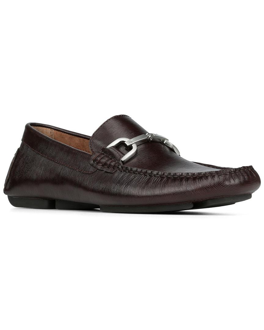 32216e14b8e Lyst - Donald J Pliner Viro Leather Driving Loafer in Brown for Men ...