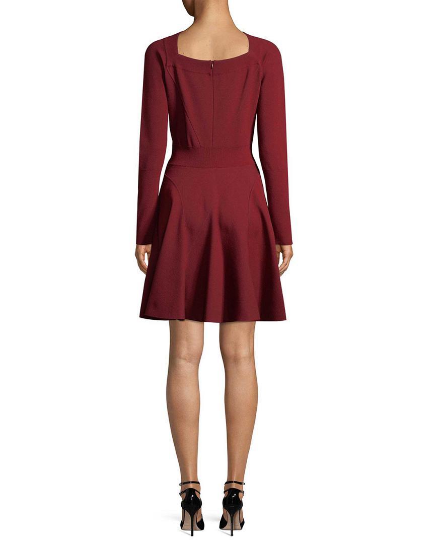 700a2f9badc Alaïa A-line Dress in Red - Save 28% - Lyst
