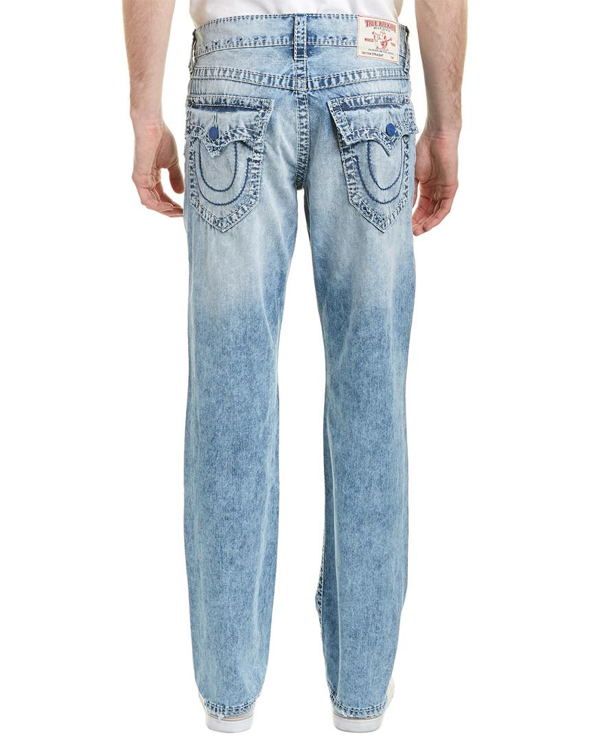 abf923d0b True Religion Country Sky Straight Leg in Blue for Men - Save 58% - Lyst
