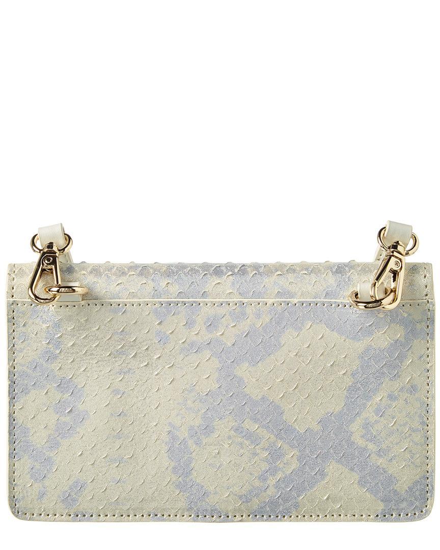 fac41d93f479 Jules Kae Emma Envelope Leather Crossbody in Metallic - Lyst