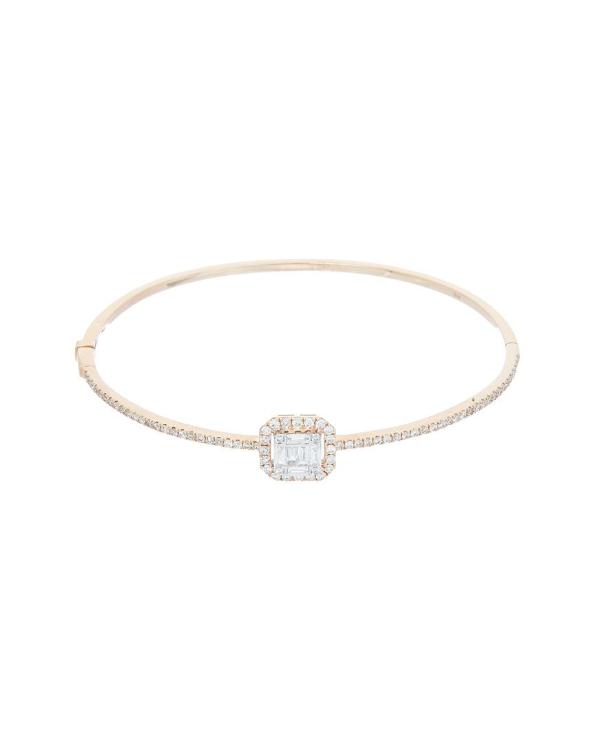 Diana M. Jewels 18k Two-Tone Diamond Link Bracelet YIAd3