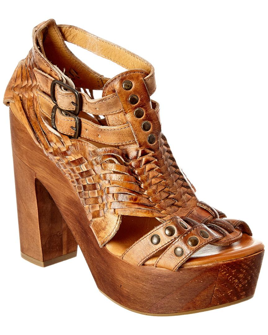 9f00d51e8db4 Bed Stu Cindy Leather Sandal in Brown - Lyst