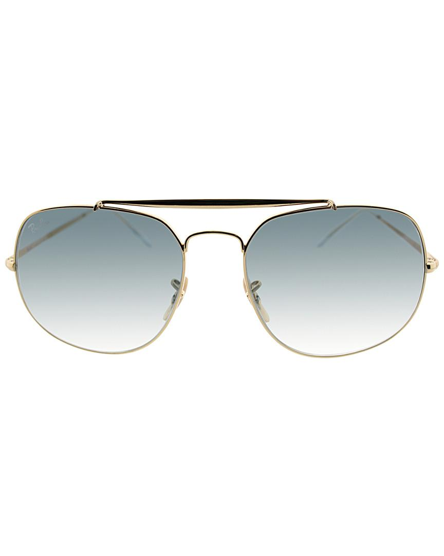 97362bb86e7 Lyst - Ray-Ban Unisex Rb3561 Aviator 57mm Sunglasses