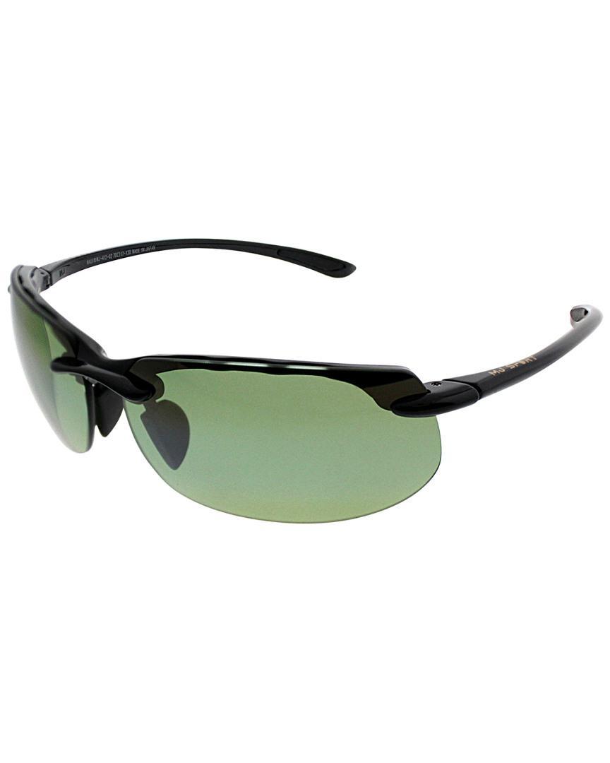 5b9f9ee6f0b Lyst - Maui Jim Unisex Banyans 70mm Polarized Sunglasses in Green for Men -  Save 16.759776536312856%