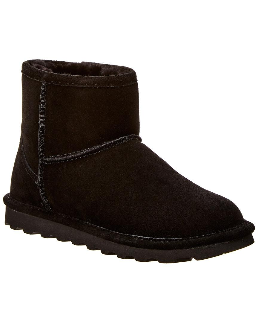 30bb1e5973a0b Bearpaw Alyssa Never Wet Water-resistant Suede Boot in Black - Lyst