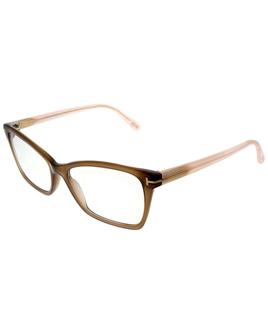 45ba05305a Tom Ford Cat-eye 54mm Optical Frames in Brown - Lyst