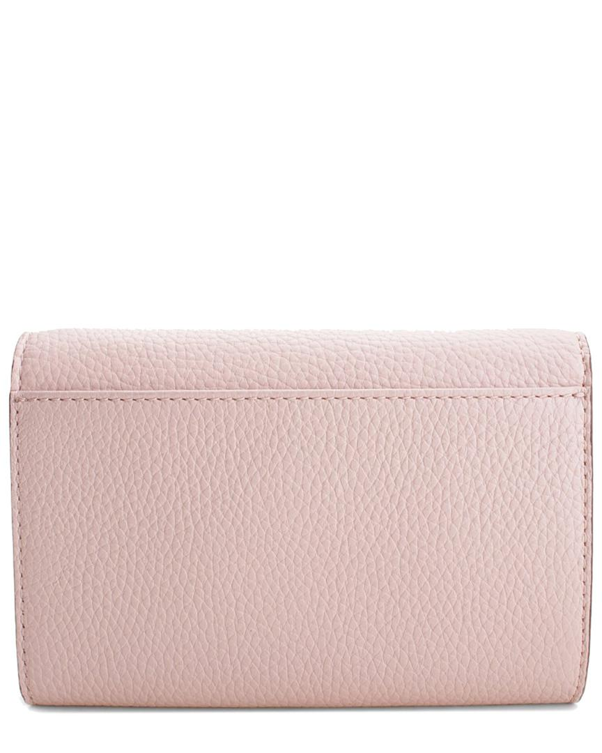 7952f748ee5c34 MICHAEL Michael Kors Vanna Large Phone Leather Crossbody in Pink - Save 1%  - Lyst