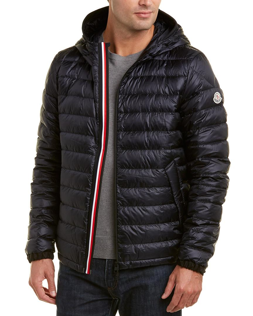 f2cf2711a1a9 Lyst - Moncler Morvan Down Jacket in Blue for Men