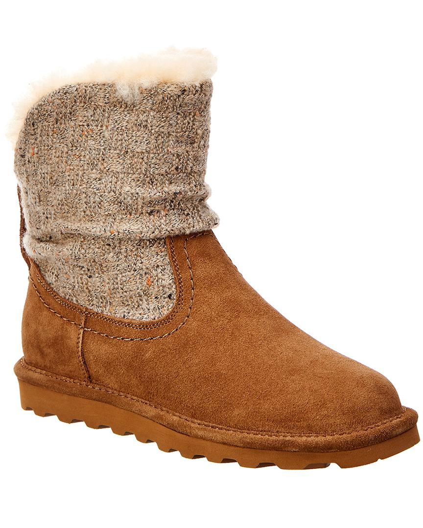 994acbdb3e63 Bearpaw Virginia Never Wet Water-resistant Suede Boot in Brown - Lyst