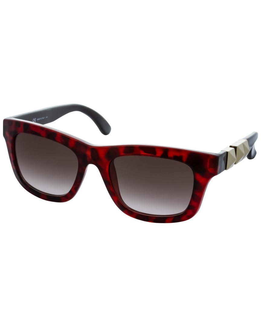 b232d7c742 Valentino Women s V691s Sunglasses in Red - Save 1.3157894736842053 ...