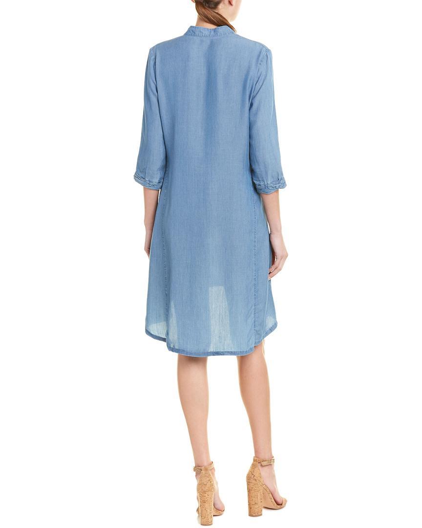 fa862c252c2 Lyst - NIC+ZOE Tunic Dress in Blue