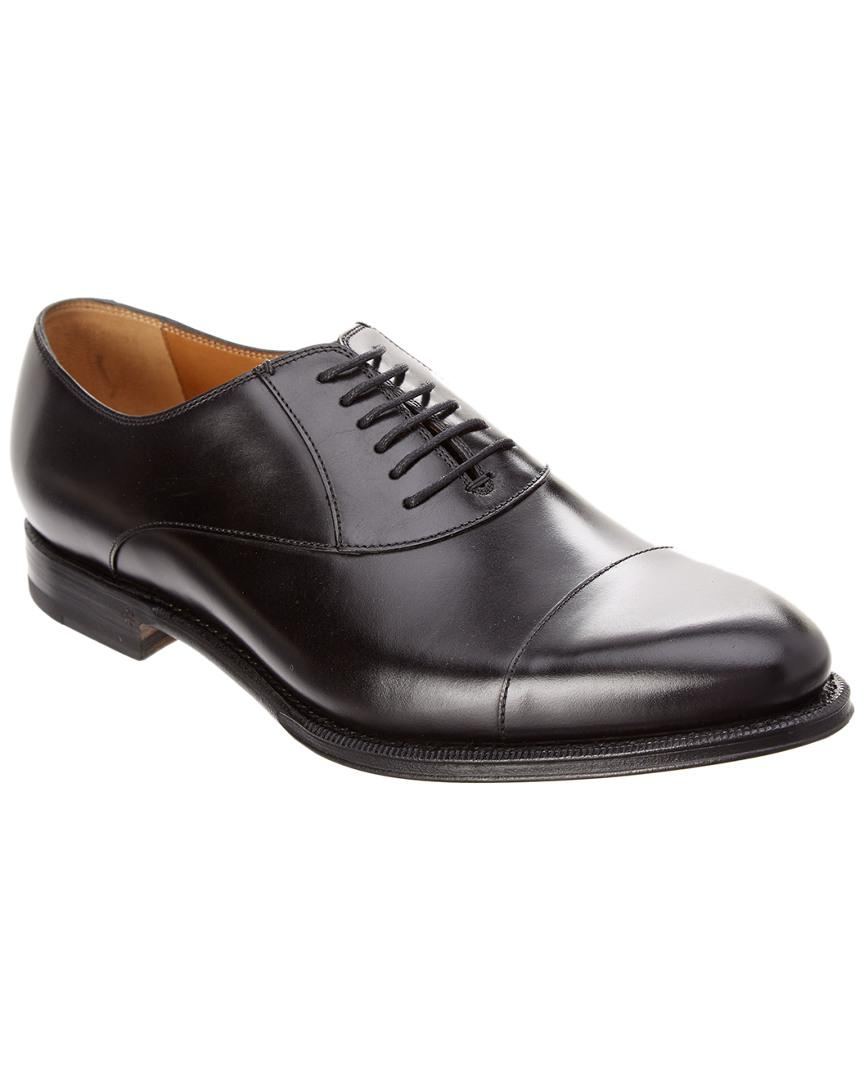 6149d28ef6253 Gucci Leather Lace-up Oxford in Black for Men - Save ...