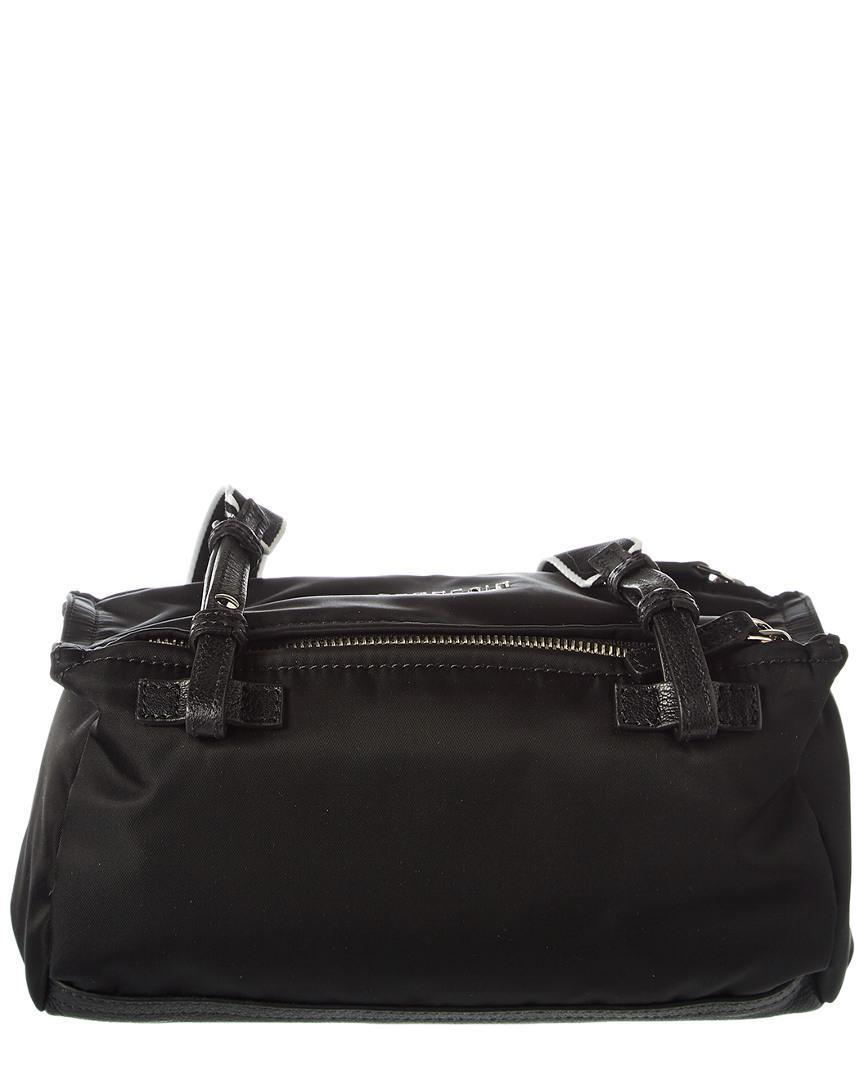 8649f6457c7b Givenchy 4g Pandora Mini Nylon Shoulder Bag in Black - Save 19% - Lyst