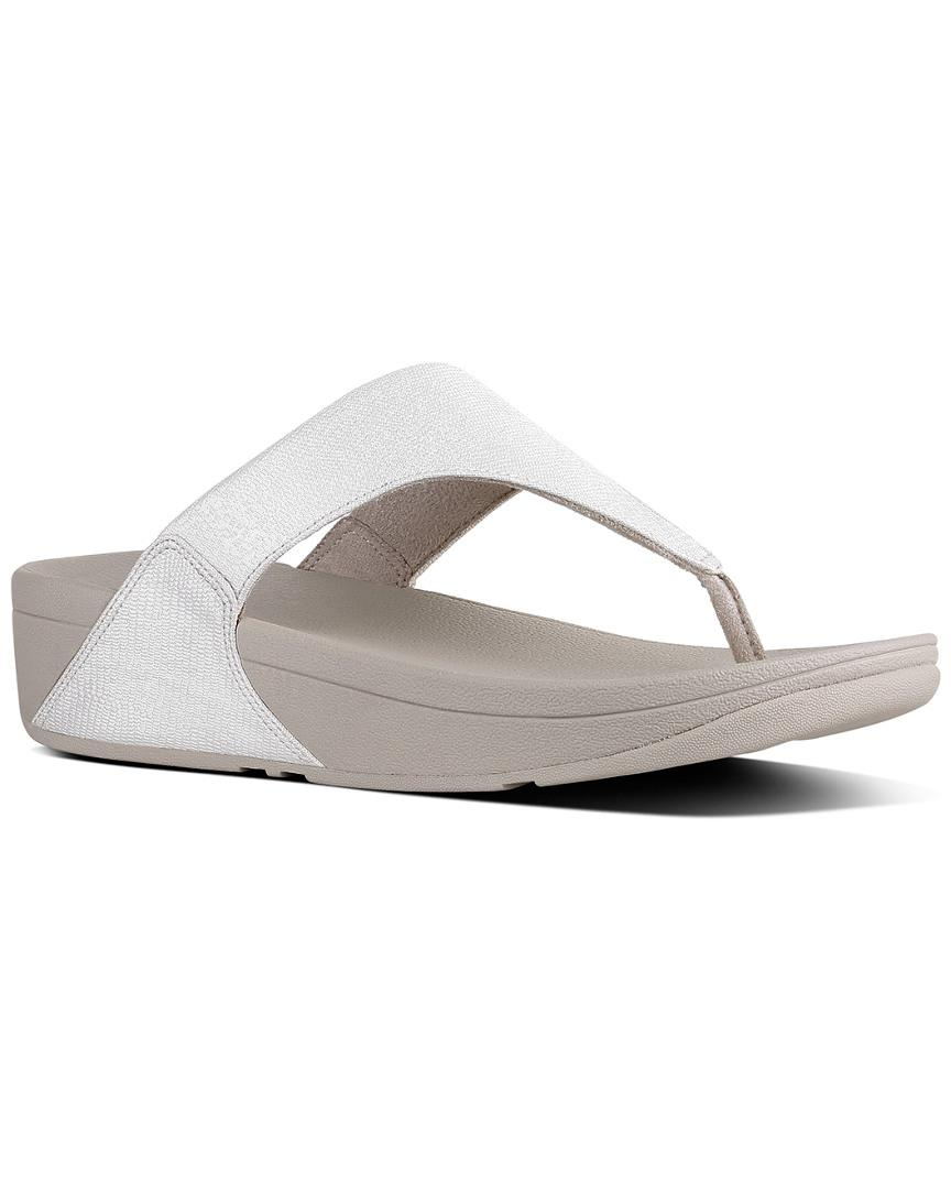 cd959f1dba6f Lyst - Fitflop Lulu Sandal in Metallic