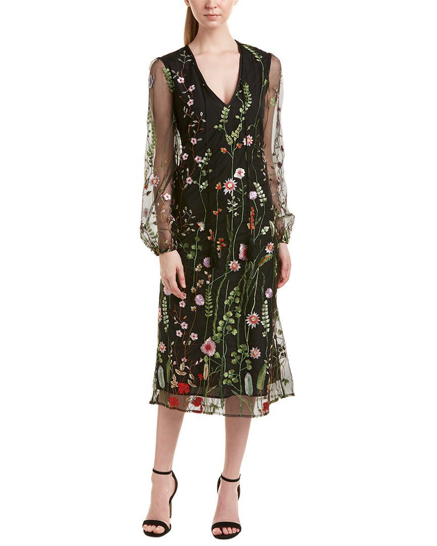 7d5746187f Lyst - Catherine Malandrino Dress in Black - Save 13%