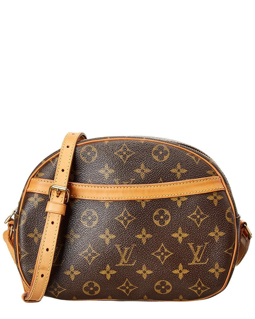 39ffbeea45ee Lyst - Louis Vuitton Monogram Canvas Blois in Brown
