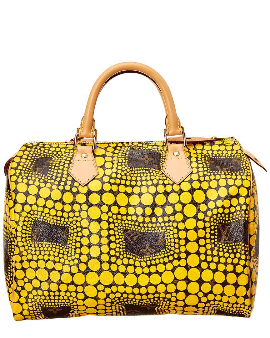 13b785f51211 Louis Vuitton Limited Edition Yayoi Kusama Yellow Dots Monogram ...