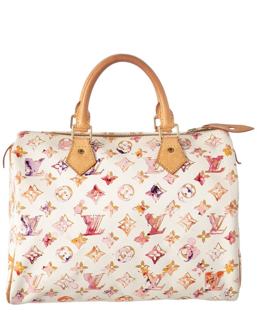 3483a178d5b8 Lyst - Louis Vuitton Limited Edition Richard Prince White Watercolor ...