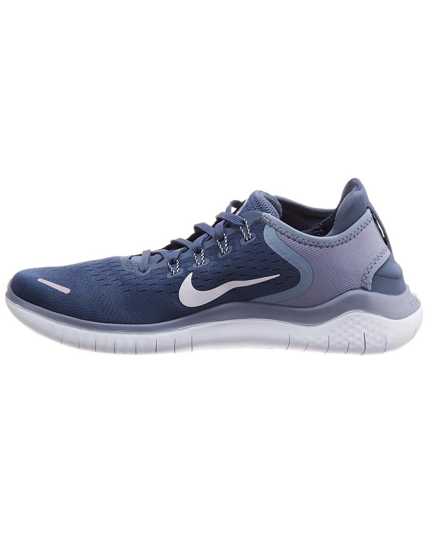 e68427731c8d Nike Free Rn 2018 Mesh Sneaker in Blue for Men - Save 2% - Lyst