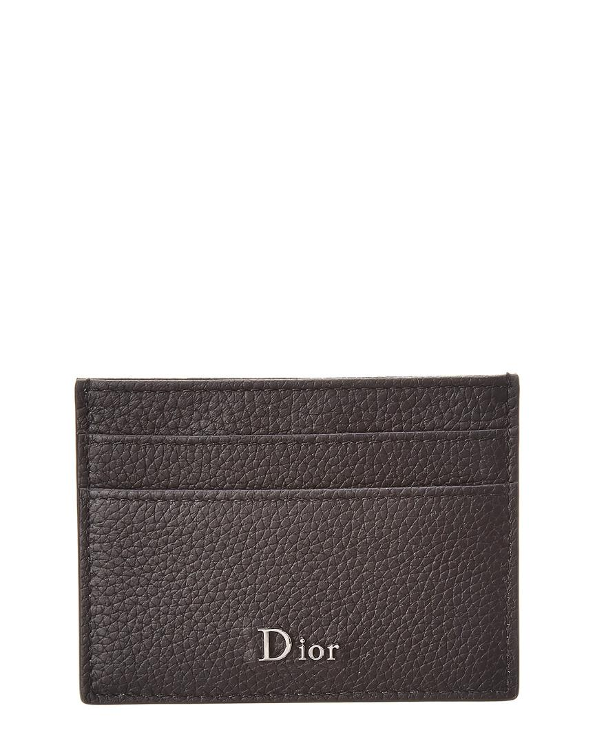 42199b5e37ca Lyst - Dior Homme Grained Leather Card Holder for Men