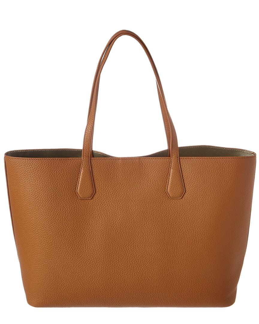 Lyst - Tory Burch Brody Leather Tote in Brown 416d2cc82a526