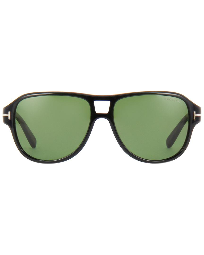 eed75647452 Lyst - Tom Ford Dylan 57mm Sunglasses in Green for Men