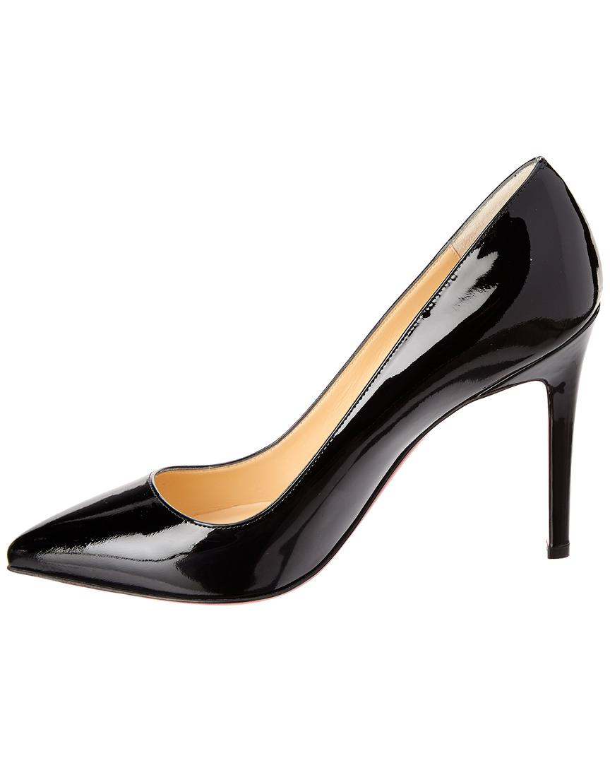 ed9376c80b7c Lyst - Christian Louboutin Pigalle Follies 100 Patent Pump in Black - Save  15%