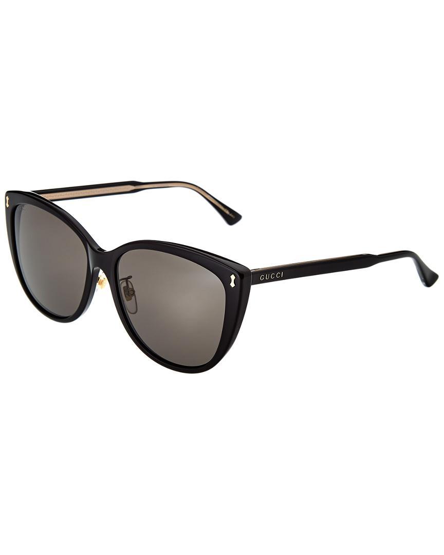 c0e2cb3184 Gucci GG0193SK-30001762003 58mm Sunglasses - Lyst