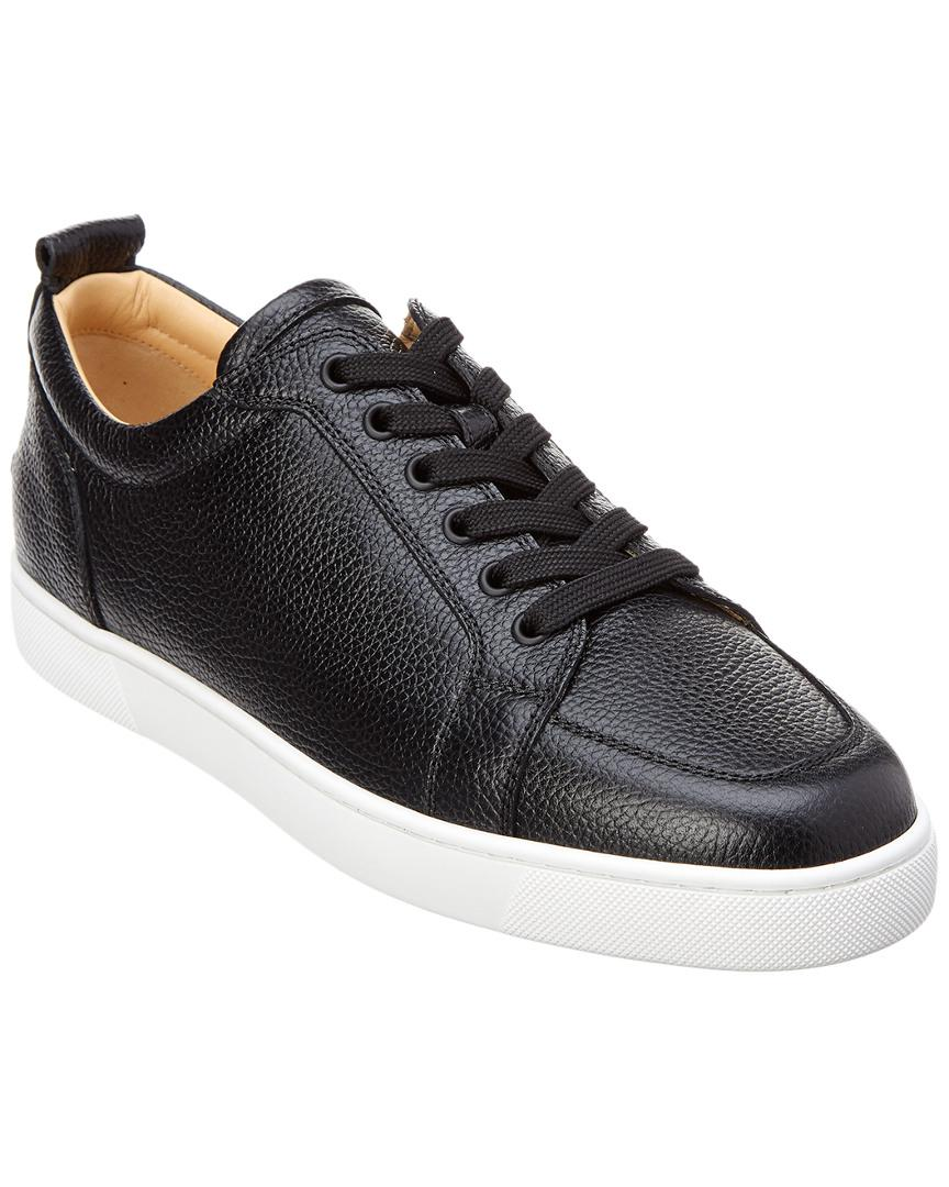 5a7ac46f31b Lyst - Christian Louboutin Rantulow Leather Sneaker in Black for Men