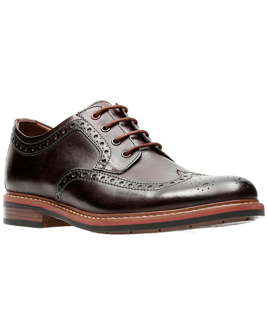7c3d179967 Lyst - Clarks Men s Armon Wing Leather Shoe in Brown for Men