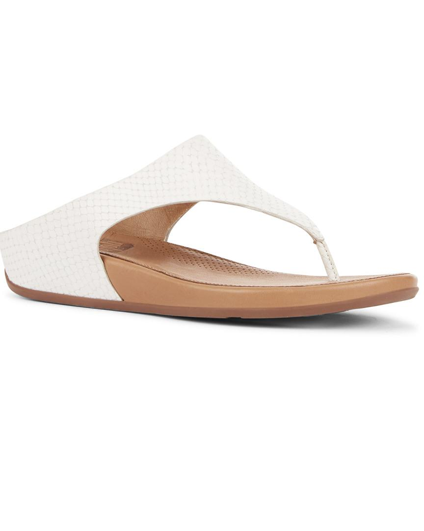 9d1af88753aa4 Fitflop Banda Sandal Urban White in White - Lyst