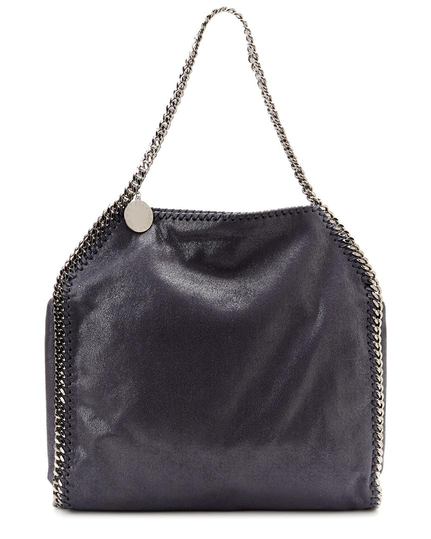 98136d1e99a Stella Mccartney Falabella Shaggy Deer Small Tote in Blue - Save ...