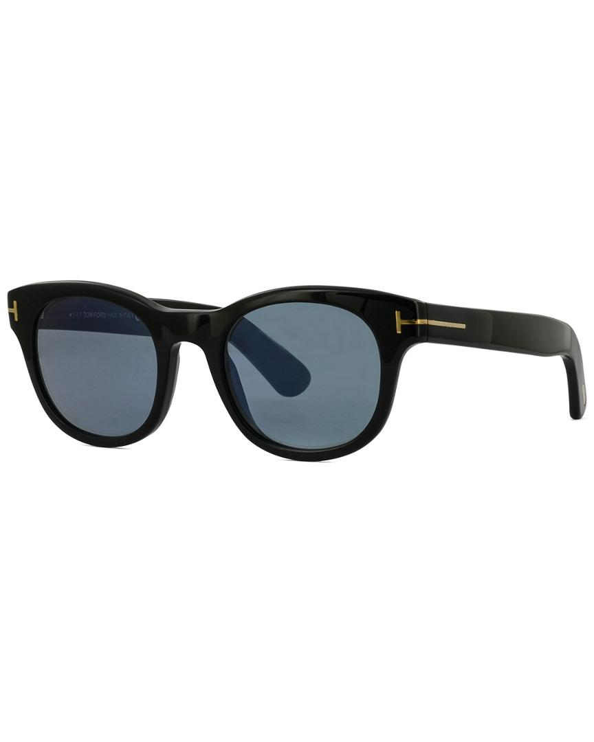 ee5cee01b65 Lyst - Tom Ford Fisher 49mm Sunglasses in Black for Men - Save 1%