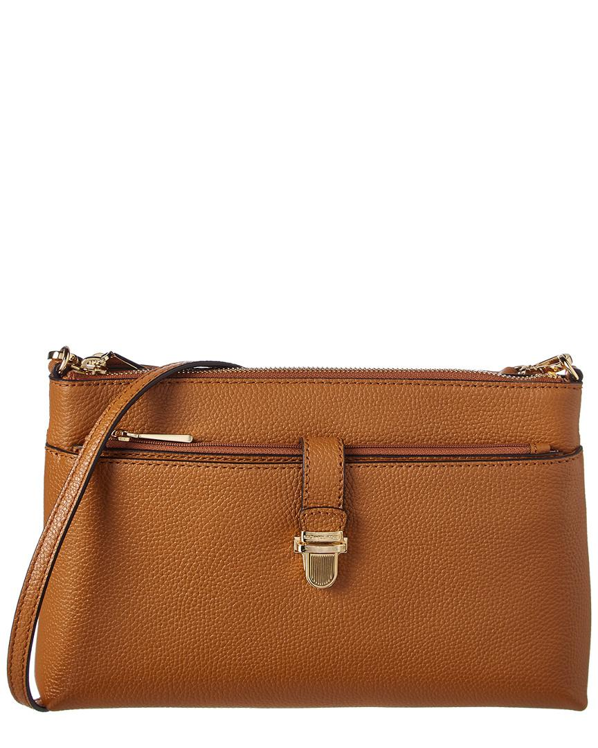 ab2f03f44734 MICHAEL Michael Kors Mercer Large Leather Snap Pocket Crossbody in ...