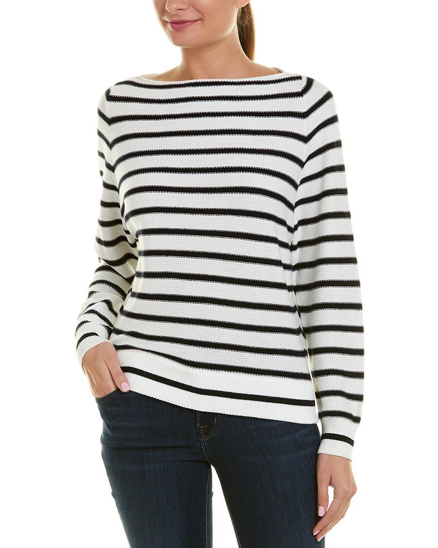 331452bcaf7 Lyst - Vince Raglan Sweater in White