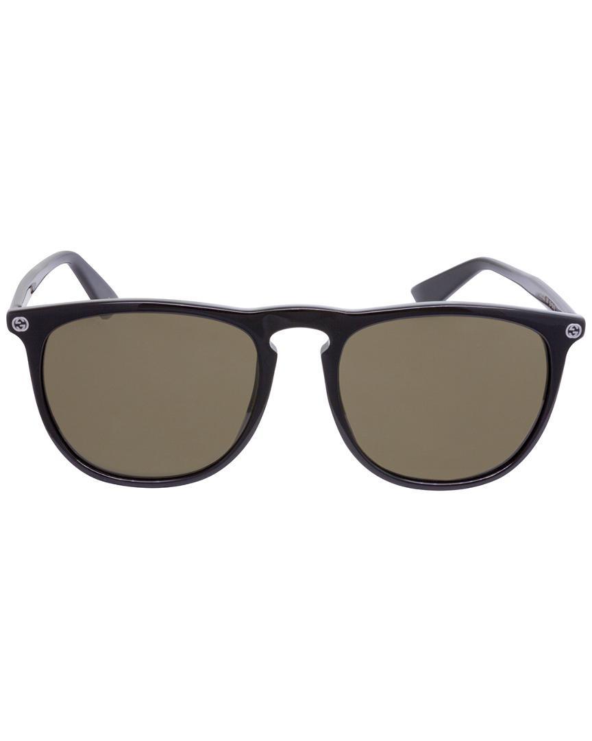 8e0622a505 Gucci Unisex GG0120S 53mm Polarized Sunglasses - Lyst