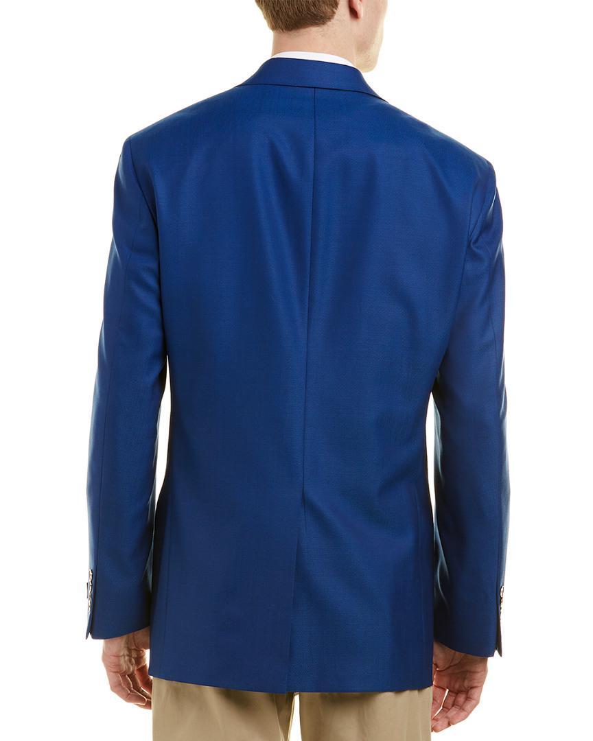 51faf92d9da Hart Schaffner Marx - Blue Chicago Classic Fit Wool Sport Coat for Men -  Lyst