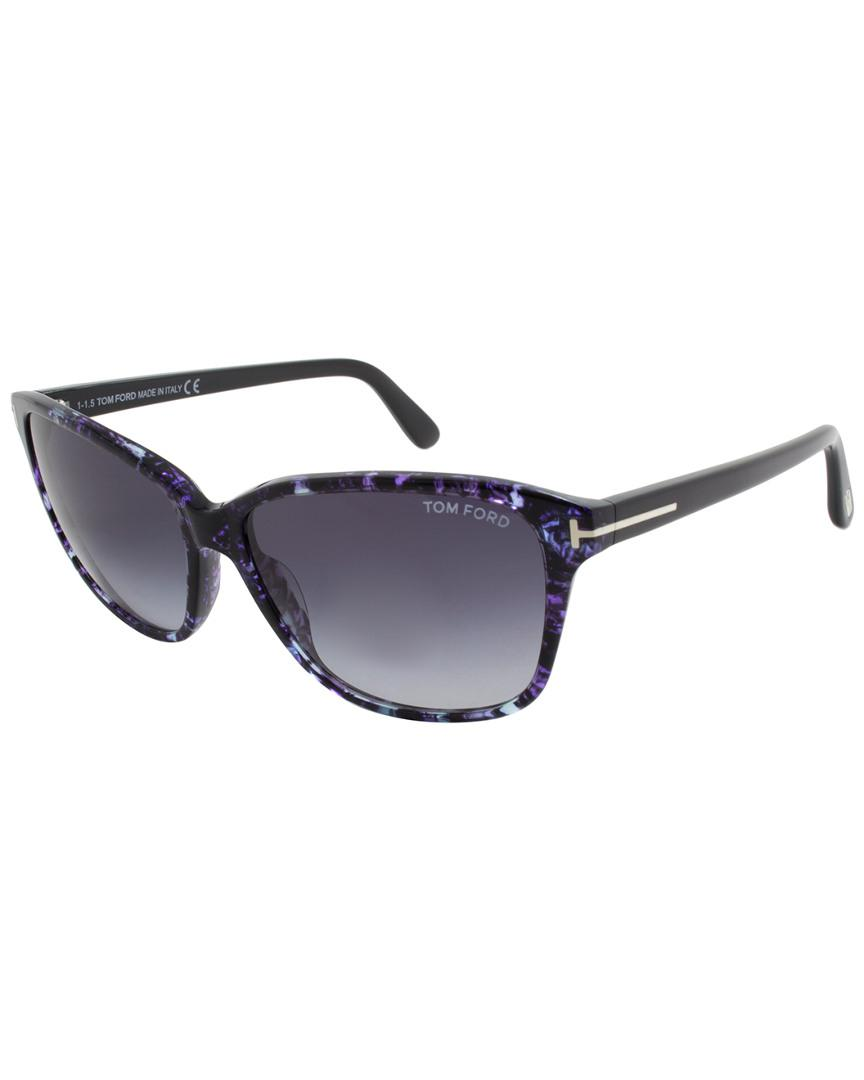 4ab14e4dcd945 Tom Ford Dana 59mm Sunglasses in Blue - Lyst