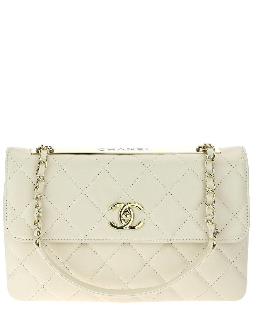 2cf0ccd17e8b48 Chanel Beige Lambskin Leather Trendy Cc Small Single Flap Bag in ...
