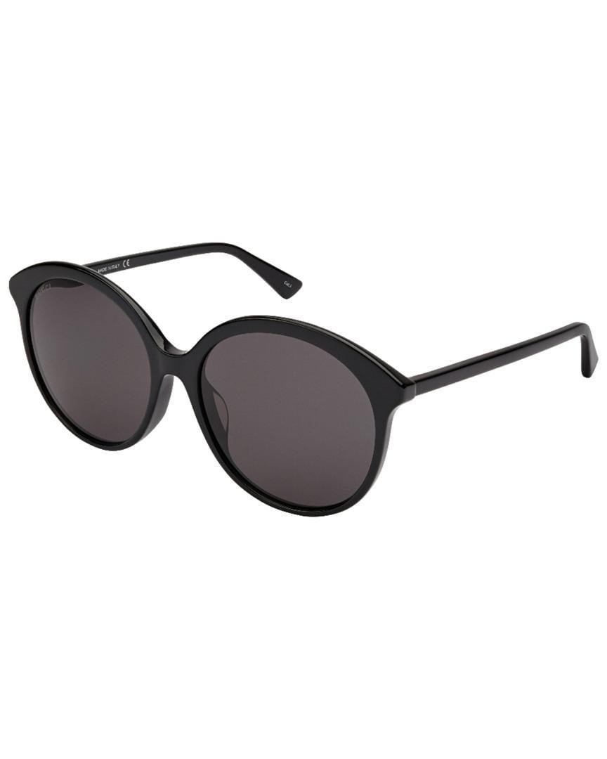 e3972490c4 Lyst - Gucci Women s Gg0257sa 59mm Sunglasses in Black