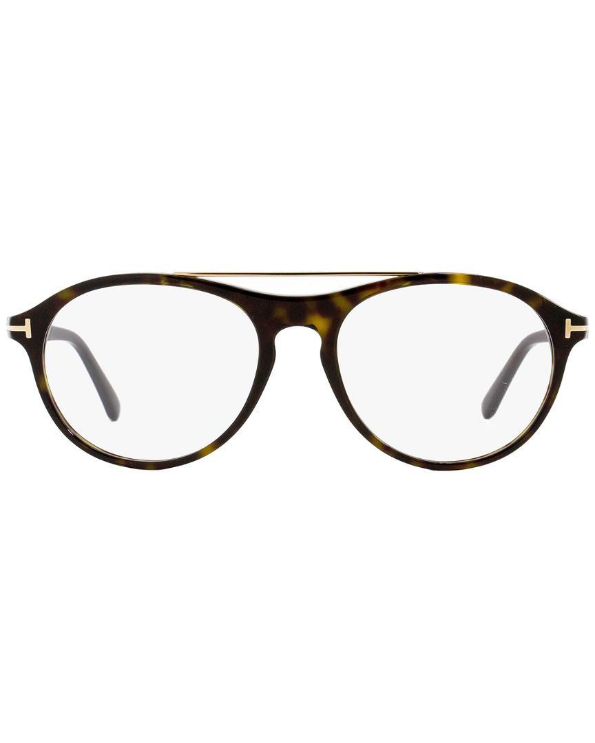 e1bf38be3a Tom Ford Unisex Tf5411 53mm Optical Frames for Men - Lyst
