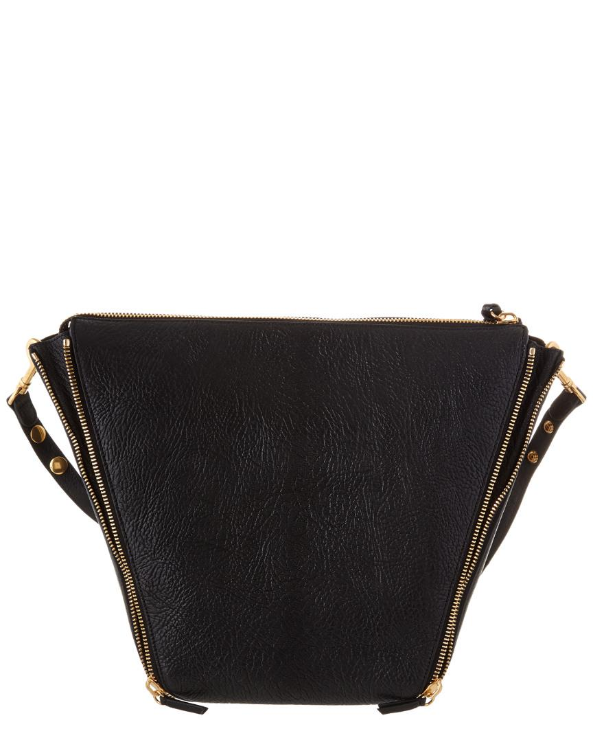 29e9cad52a Mulberry Camden Textured Goat Leather Shoulder Bag in Black - Lyst