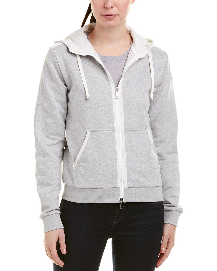 64a5691d4 Lyst - Moncler Hoodie in Gray