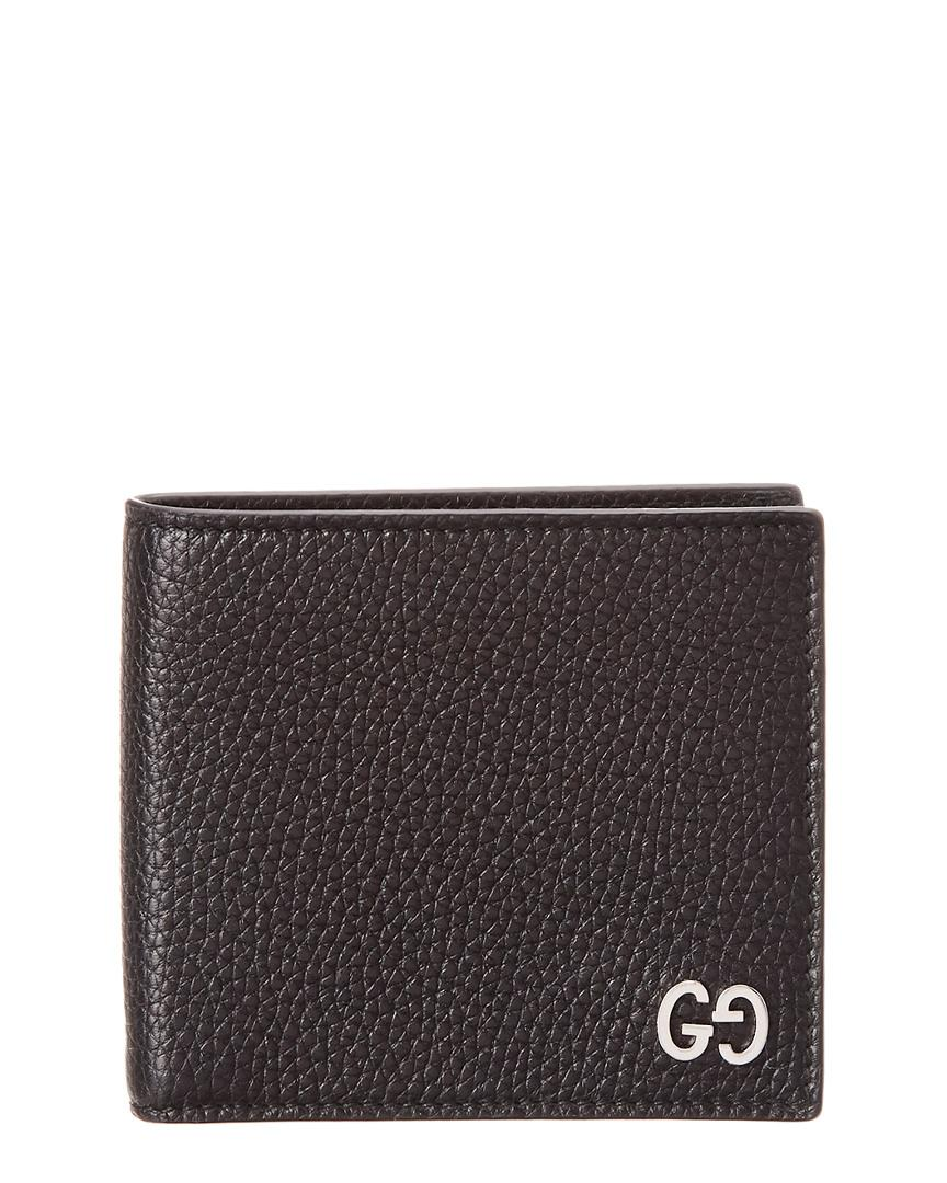 574a01c4cc5 Lyst - Gucci Leather Wallet in Black for Men