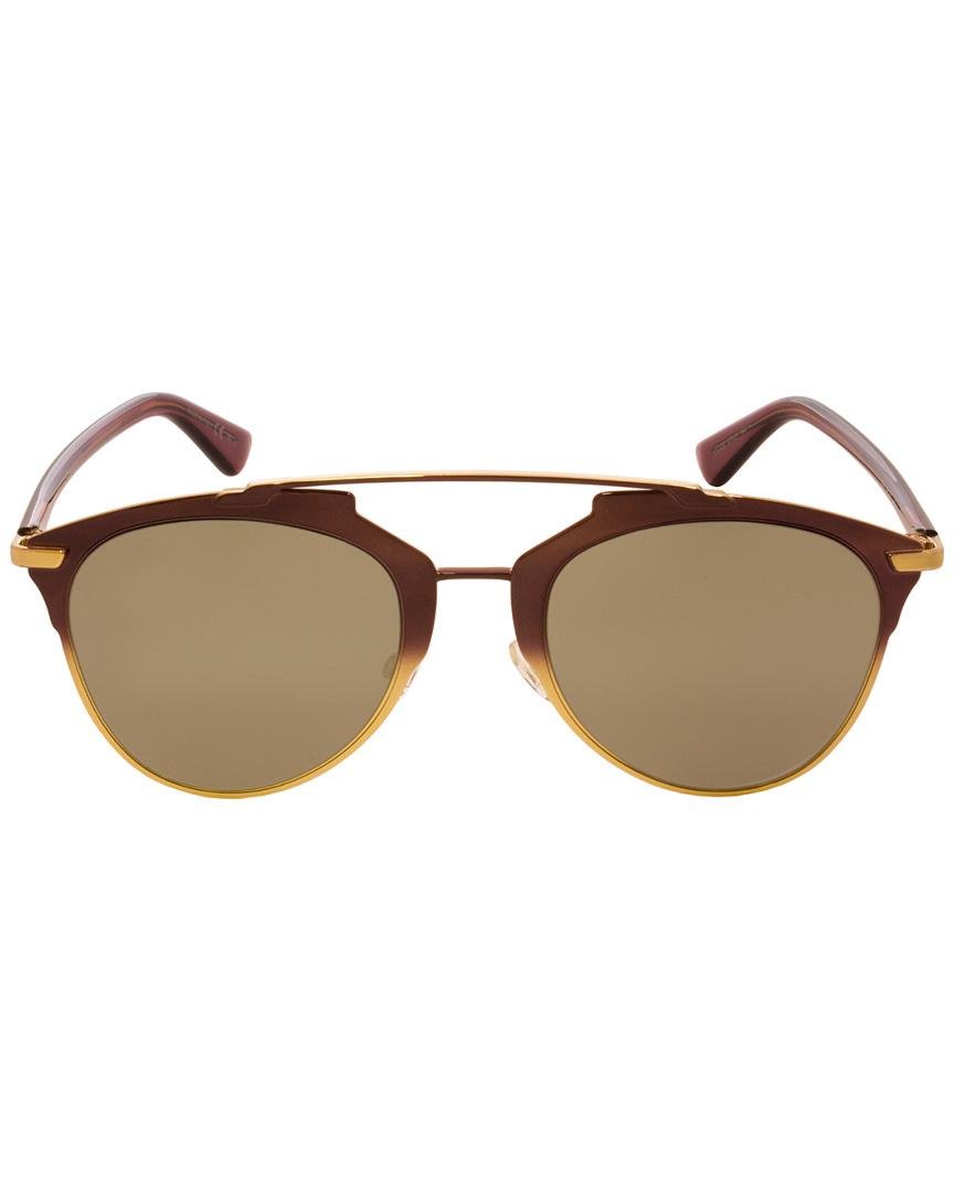 83ff174a76 Lyst - Dior Reflected 52mm Sunglasses in Brown - Save 10.952380952380949%
