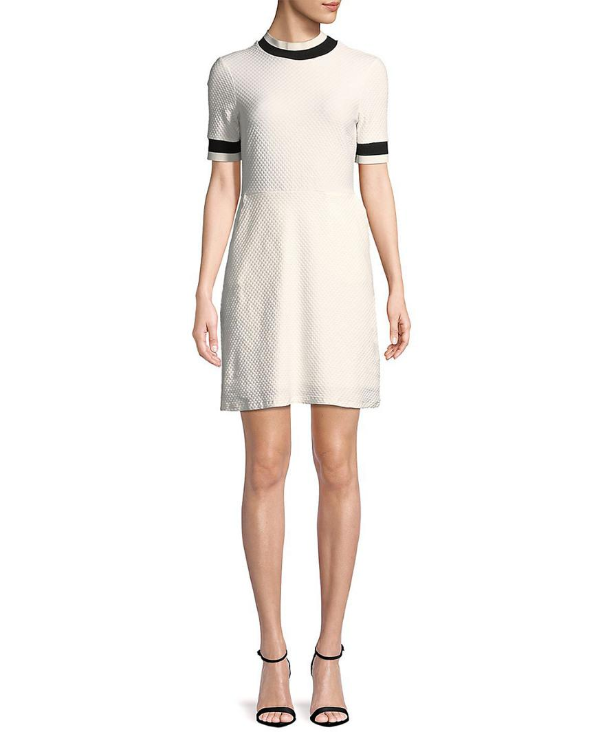 049c498bb5 French Connection Savos Sudan Jersey Dress in White - Save ...