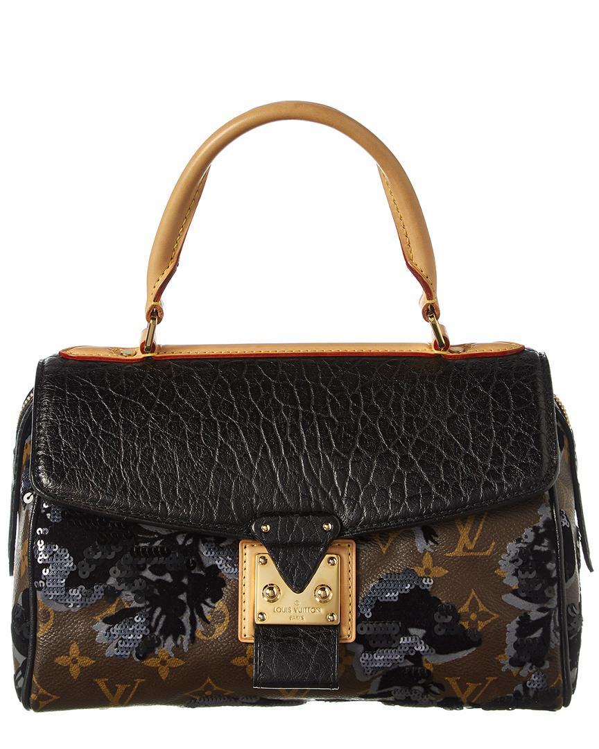 Louis Vuitton Limited Edition Brown Fleur De Jais Carrousel in Brown ... c6880760a8246