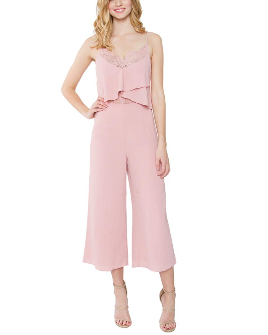 bb0aeac2c9f Lyst - Sugarlips Eliana Jumpsuit in Pink