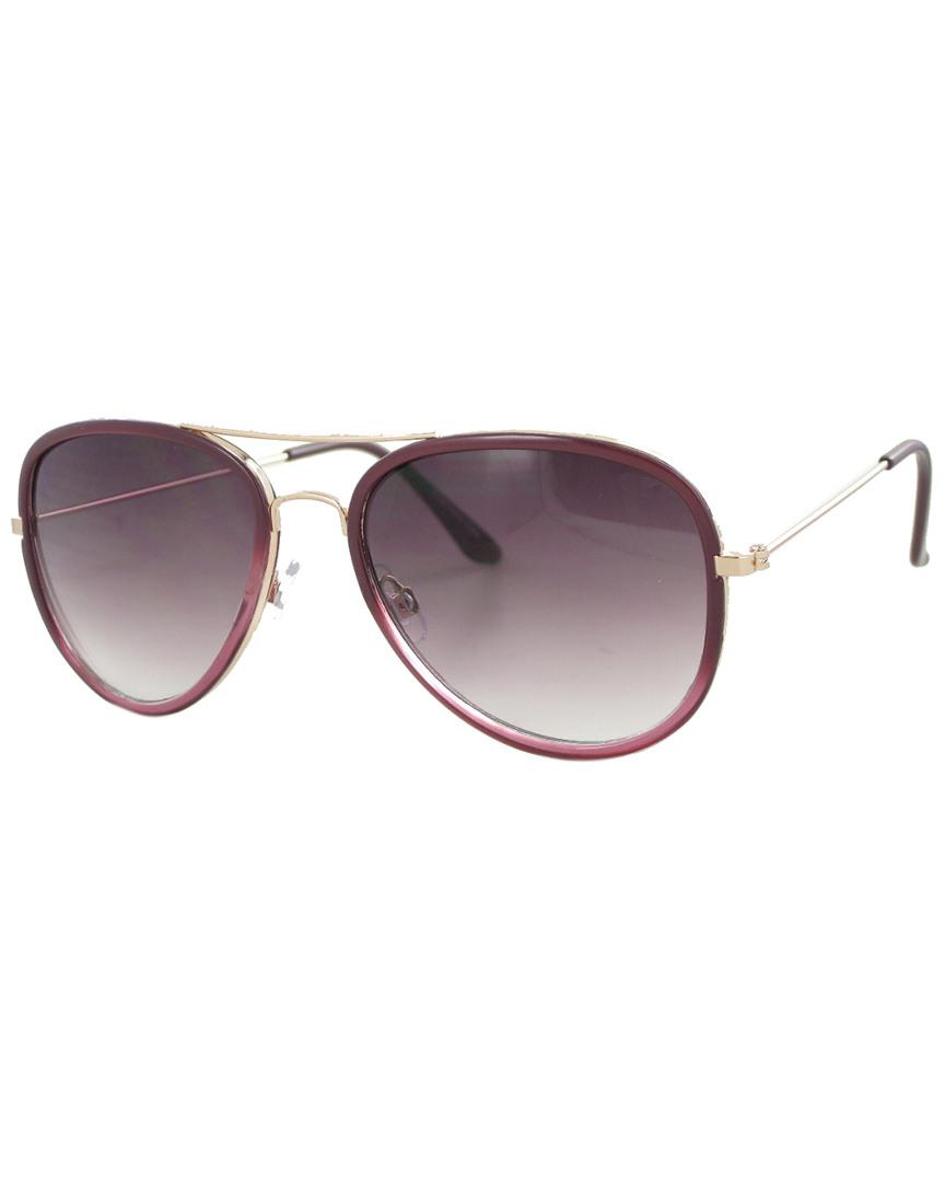 61bc35e37ad Lyst - Jones New York Genevieve 53mm Polarized Sunglasses in Metallic