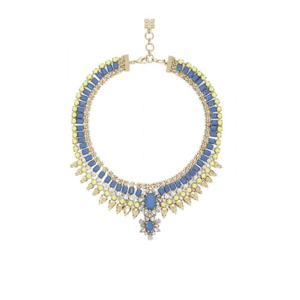 BCBGeneration Statement Stone Evening Necklace L3ofSAm